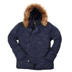 """Мужские зимние куртки ВВС США-N-3B Parka -""""Аляска"""" от Alpha Industries Inc. USA 1"""