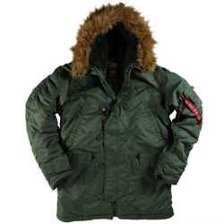 """Мужские зимние куртки ВВС США-N-3B Parka -""""Аляска"""" от Alpha Industries Inc. USA 3"""