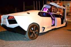 003 Лимузин Lamborghini Reventon белая  3