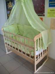 Акция! Набор: Кровать с ящиком+матрас кокос+ постельное 8 эл. Новое