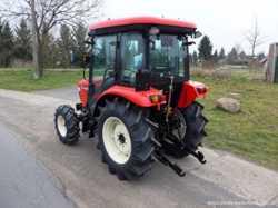Экспортный б/у трактор 2007 года выпуска Branson 5025 CX 47 л/с + плуг 3