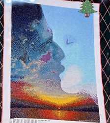 Картина бисером - Поцелуй небес