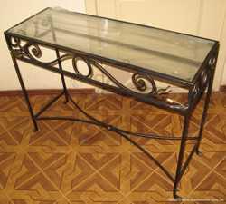 Кованые столы и журнальные столики