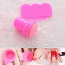 Маникюрный комплект штамп+скребок для стемпинга ногтей