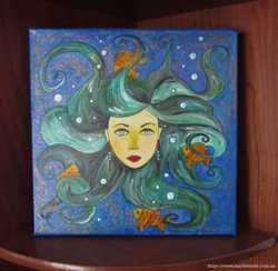 "Картина ""Морська чаклунка"""