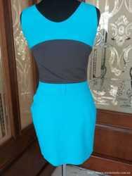 Платье Versace бирюза 2