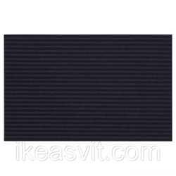 KRISTRUP Придверный коврик, темно-синий, 35x55 см 90392452 IKEA, ИКЕА,