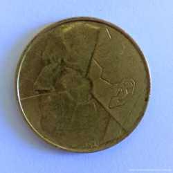 5 франков 1986 года, Бельгия (BELGIQUE)