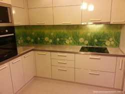Изготовим кухню в Луганске с крашеными фасадами