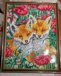 Картина алмазная мозаика