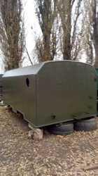 Кунг вагончик, двухсекционный, демонтируемый с автомобиля Камаз 2