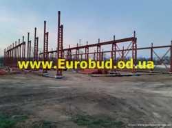 Строительство ангаров в Одесской области 1