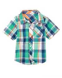 Замечательная рубашка из натуральной ткани, от 3 до 5 лет