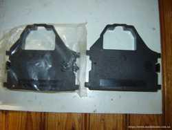 2 шт. картриджи (квадратные) с лентой для принтера, новые