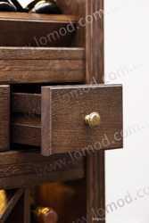Шкаф деревянный для вина Тироль 2