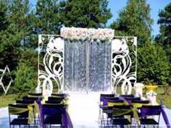 Заказать свадебный декор арендовать свадебную арку