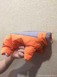 Продам новый зимний костюмчик для щенка или маленькой собаки.