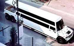 032 Лимузин Mega Hummer H2 Disco аренда