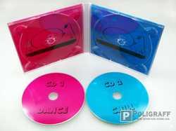 Цветная печать на CD\DVD дисках Украина