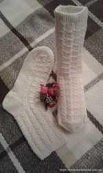 Продаю вязаные носки ручной работы