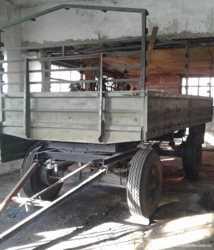 Продаем грузовой бортовой прицеп IFA E5, 5 тонн, 1986 г.в.