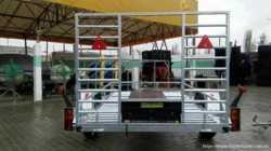 Причеп для перевезення квадроциклів/ Прицеп, лафет, платформа 3
