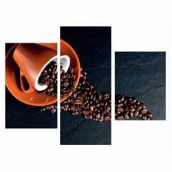 Модульная картина Кофейная композиция