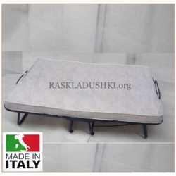 Ортопедическая двуспальная раскладушка с матрасом LUXOR DOUBLE 140*200 Италия Аналогов нет!  3