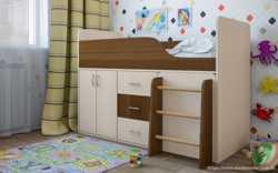 Дитяче ліжко-горище Снупі  3