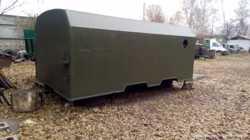 Кунг вагончик, двухсекционный, демонтируемый с автомобиля Камаз 1