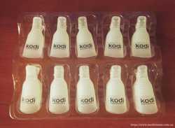 Зажимы для растворения гель-лака Kodi professional