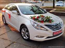 165 Hyundai Sonata белая 2013 аренда авто 1