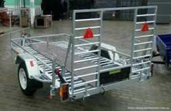 Причеп для перевезення квадроциклів/ Прицеп, лафет, платформа 2