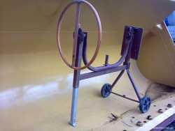 Бетономешалка / растворомешалка без ёмкости и электродвигателя. 1