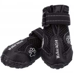 Защитные ботинки Trixie Walker Active для собак, размер XS-S, черный