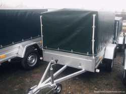 Легковий автопричеп Євро А750 210-130 2