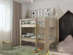Двоярусне дитяче ліжко Генрі