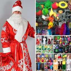 Дед мороз, снегурочка, карнавальные костюмы. 2