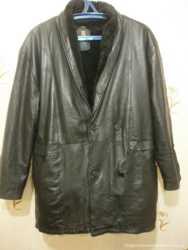Куртка мужская на меху, натур кожа