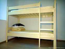 2 х-ярусная кровать из натурального дерева -2500грн 1