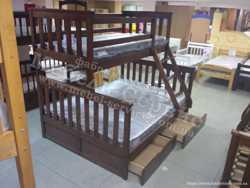 Трехместная кровать Олигарх 2