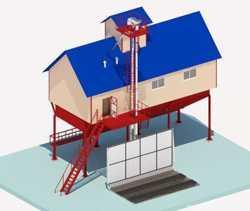 Строительство зерноочистительно-сушильных комплексов КЗС.