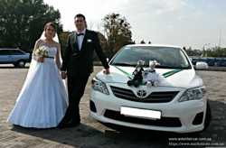 Аренда машин прокат на свадьбу VIP авто с водителем Харьков 3