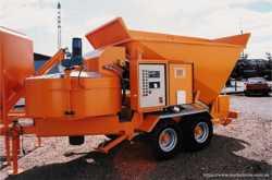 Б/у Мобильный бетонный завод B-15-1200 (2013 года) 3