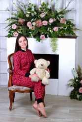 Теплая пижамка с кармашком на попе! Отличный подарок для девушки! 2