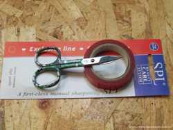 Ножницы маникюрные SPL 9047 для ногтей, кутикулы в блистере