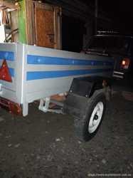 Грузоперевозки ВАЗ 2104+ ПРИЦЕП 2,5м./1,35м. 1,4 тонн