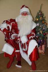 Дед Мороз вызов заказ Киев 2