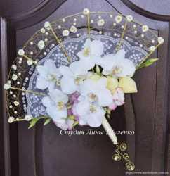 Оригинальный букет невесты для крымской свадьбы. Свадебный букет в Симферополе,Ялте,Крыму.