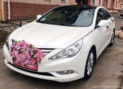 165 Hyundai Sonata белая 2013 аренда авто 2